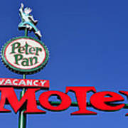 Peter Pan Motel Art Print
