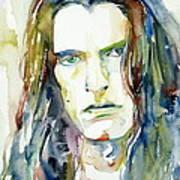 Peter Steele Portrait.4 Art Print