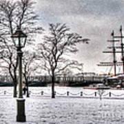 Peterburg Winter Art Print