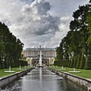 Peterhof Fountains Art Print