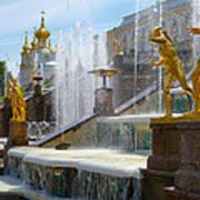 Peterhof Palace Fountains Art Print