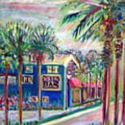Pete's Bar In Neptune Beach Art Print