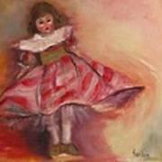 Petite Cisette Art Print by Susan Hanlon