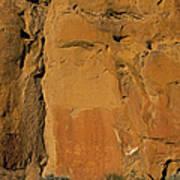 Petroglyphs   #1054 Art Print