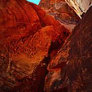 Petroglyphs Valley Of Fire Nevada Art Print