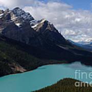 Peyto Lake Canadian Rockies Art Print