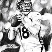 Peyton Manning Art Print