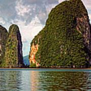 Phang Nga Bay Art Print