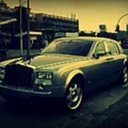 Rolls Royce Phantom Art Print