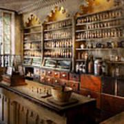 Pharmacist - The Dispensatory Art Print