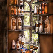 Pharmacist - Various Potions Art Print
