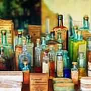 Pharmacist - Whatever Ails Ya - II Print by Mike Savad