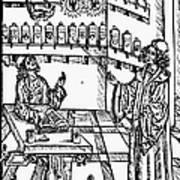 Pharmacy, 1500 Art Print