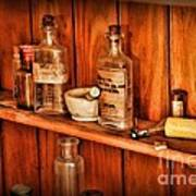 Pharmacy - A Bottle Of Poison Art Print