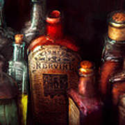 Pharmacy - A Safe Rheumatic Cure  Art Print