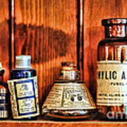 Pharmacy - Cocaine In A Bottle Art Print