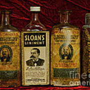 Pharmacy - Liniments For Sore Muscles Art Print