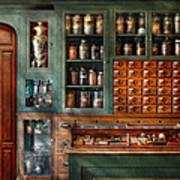 Pharmacy - Medicine - Pharmaceutical Remedies  Art Print