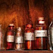 Pharmacy - Pharmacist's Fancy Fluids Art Print