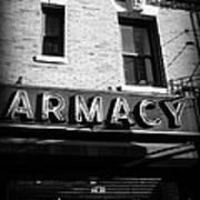 Pharmacy - Storefronts Of New York Art Print