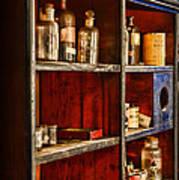 Pharmacy - The Back Room Art Print