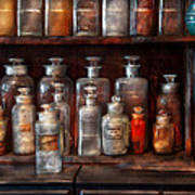 Pharmacy - The Chemistry Set Art Print by Mike Savad