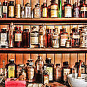 Pharmacy - The Medicine Shelf Art Print