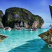 Phi Phi Islands Art Print by Shannon Rogers