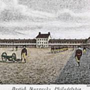 Philadelphia: Barracks Art Print