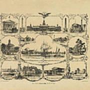 Philadelphia By James Fuller Queen Art Print