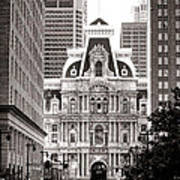 Philadelphia City Hall Art Print