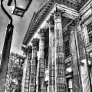 Philadelphia First Bank 2 Bw Art Print