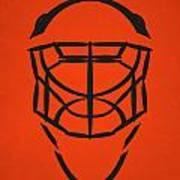 Philadelphia Flyers Goalie Mask Art Print