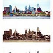 Philadelphia Four Seasons Art Print