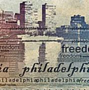 Philadelphia Freedom Art Print