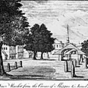 Philadelphia Market, 1788 Art Print