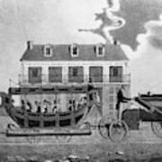 Philadelphia Railroad Art Print