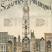 Philadelphia Skyscrapers Art Print