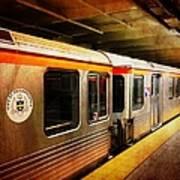 Philadelphia - Waiting Train Art Print