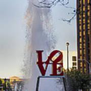 Philadelphia's Love Story Art Print