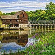 Philipsburg Mill Art Print
