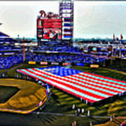 Phillies American Art Print by Alice Gipson