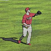 Phillies Catch Art Print