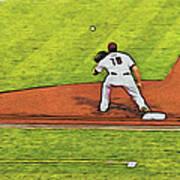 Phillies First Baseman Art Print