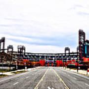 Phillies Stadium - Citizens Bank Park Art Print by Bill Cannon