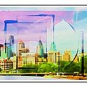 Philly Colours Art Print