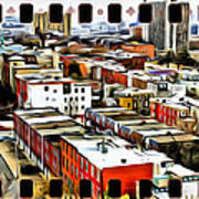 Philly Filmstrip Print by Alice Gipson