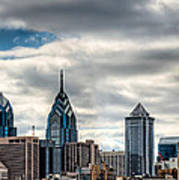 Philly From The East Art Print
