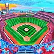 Philly Park Art Print by Jennifer Virgin