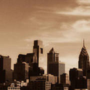 Philly Skyline 2013 Art Print